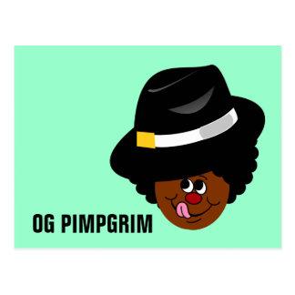OG Pimpgrim: Peregrino original del chulo de Postal