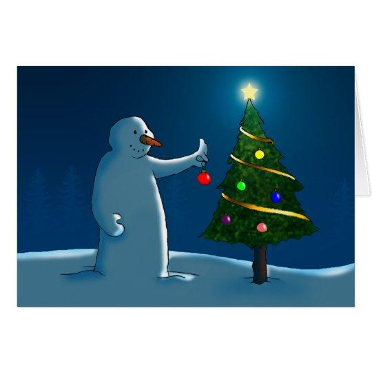 Oh árbol de navidad, oh árbol de navidad tarjeta de felicitación