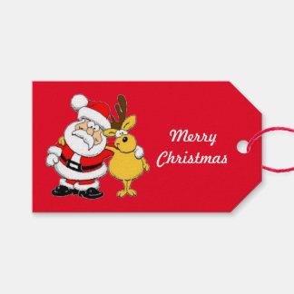 Etiquetas Para Regalos Oh etiquetas del regalo de las Felices Navidad de