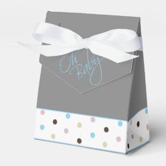 Oh fiesta de bienvenida al bebé elegante del bebé caja para regalos