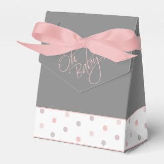 Oh fiesta de bienvenida al bebé elegante del bebé cajas para regalos de boda