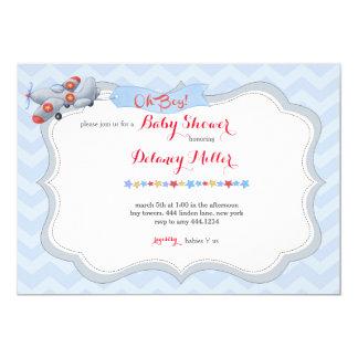 ¡Oh! Invitación de la fiesta de bienvenida al bebé Invitación 12,7 X 17,8 Cm