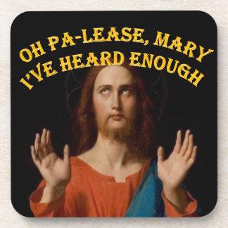 Oh Maria he oído por favor bastantes Posavasos