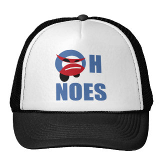 oh no camisetas gorra