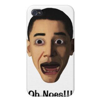 ¡Oh no iPhone 4/4S Fundas