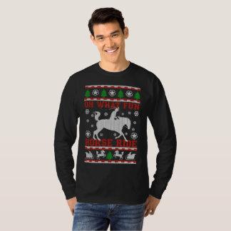 Oh qué camiseta del paseo del caballo de la