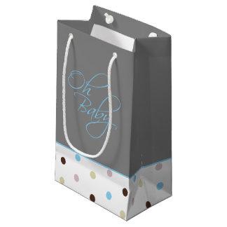 Oh regalo elegante del bebé del bebé para el bolsa de regalo pequeña
