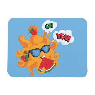 ¡Oh! ¡Sí! es tiempo de verano Iman