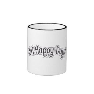 Oh taza feliz del día