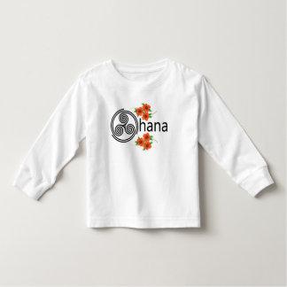 Ohana = familia camiseta de bebé