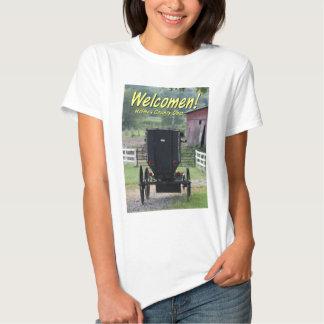 OHCA101.Amish Buggie - Holmes Co OH. Camisetas