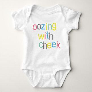 ¡OHhH! ¡Bebé fresco que exuda con la mejilla! Body Para Bebé