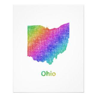 Ohio Folleto 11,4 X 14,2 Cm