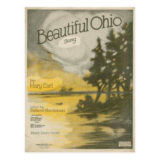 Ohio hermoso tarjeta postal