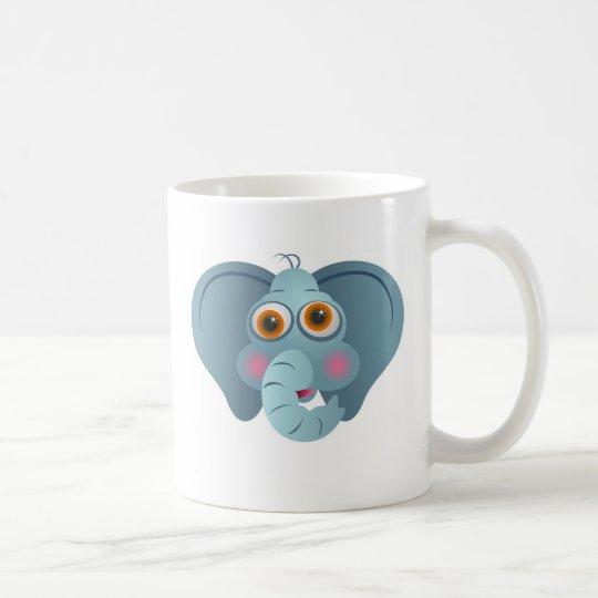 Oídos grandes taza de café