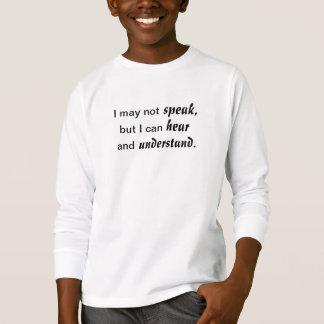 Oiga y entienda camiseta