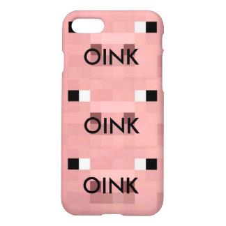 oink   caja del teléfono del iPhone 7 Funda Para iPhone 7