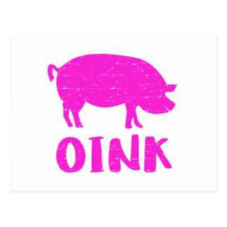 Oink cerdo postal