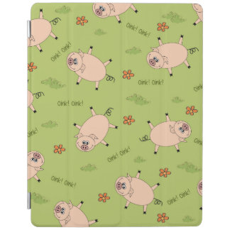 Oink modelo del cerdo cubierta de iPad