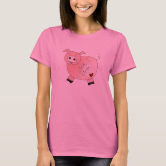 Oink Oink cerdo Camiseta