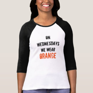 "OITNB ""el miércoles llevamos"" la camiseta"