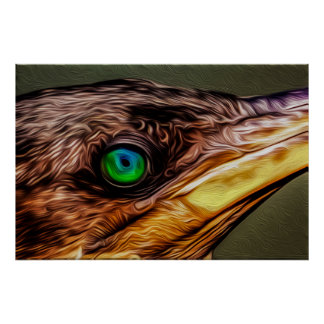 Ojo 05 del pájaro - arte de Digitaces