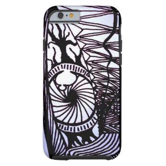 Ojo abstracto funda resistente iPhone 6