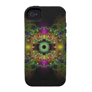 Ojo de dios - vejiga Piscis Case-Mate iPhone 4 Fundas