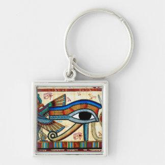 OJO de Egipto antiguo del llavero de HORUS Wadjet