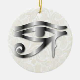 Ojo de Horus - acero 1 - ornamento