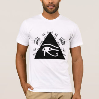 Ojo de la camiseta de Horus