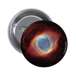 Ojo de la nebulosa de dios chapa redonda de 5 cm