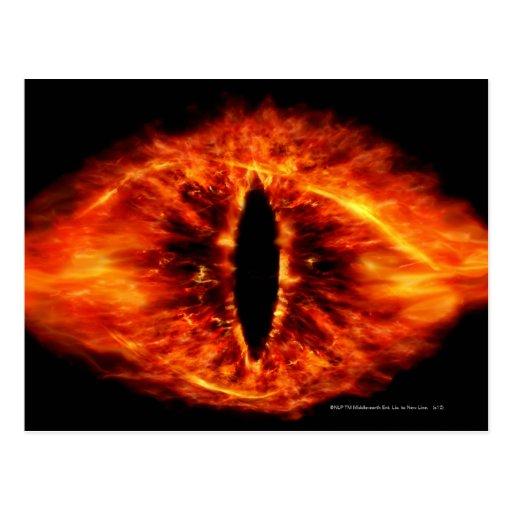 Ojo de Sauron Tarjeta Postal