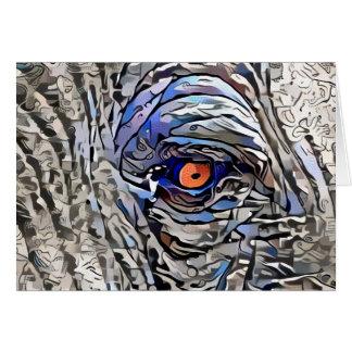 Ojo del elefante tarjeta pequeña