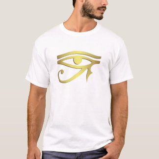 Ojo del hombre del horus camiseta