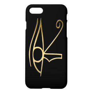 Ojo del símbolo del egipcio de Horus Funda Para iPhone 8/7