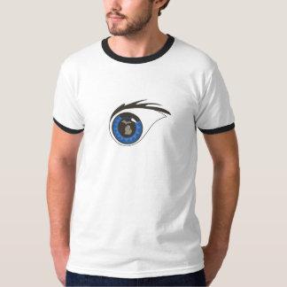Ojo en el campanero de Michigan 2-Sided Camiseta