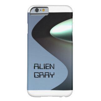 Ojo gris extranjero de la cucharilla funda barely there iPhone 6