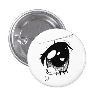 ojo triste del animado: (mini botón