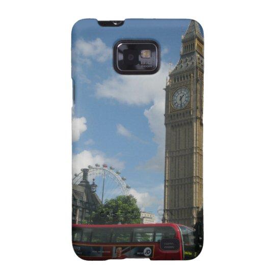 Ojo y Big Ben de Londres Funda Para Samsung Galaxy S2