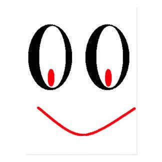 Ojos borrachos del país con sonrisa Smirking de A Tarjetas Postales