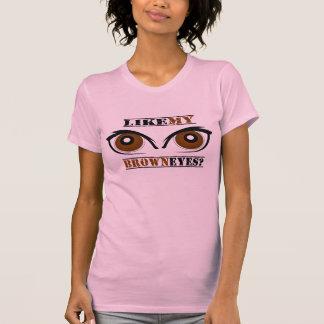 Ojos de Brown Camisetas