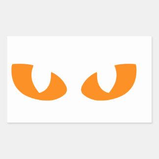 Ojos de gato rectangular altavoz