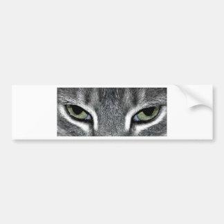 Ojos de gato pegatina para coche