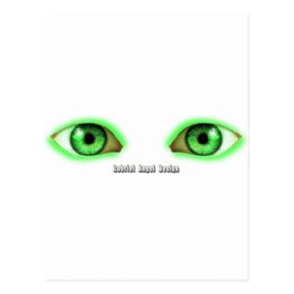 Ojos de la envidia postal