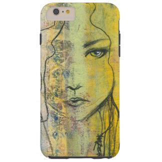 Ojos del amarillo - caja del teléfono funda resistente iPhone 6 plus