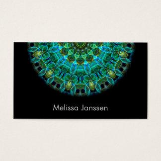 Ojos del búho - Mandala Tarjeta De Negocios