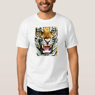 Ojos del tigre camisas