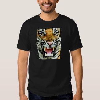 Ojos del tigre camiseta