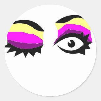 Ojos Pegatinas